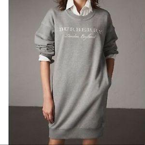 Burberry sweatshirt dress sz xs fit  small too